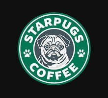 Star Pugs Coffee - Starbucks Womens Fitted T-Shirt