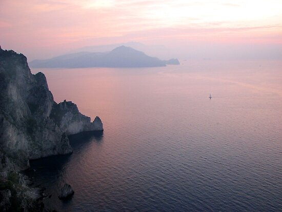 Capri at Sunrise - Italy by ljroberts