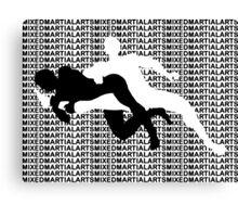 Mixed Martial Arts Kneebar 2  Canvas Print