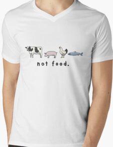 Not Food Mens V-Neck T-Shirt