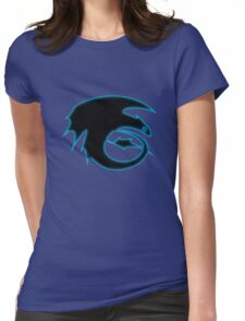 How to train your dragon - Toothless Symbol Womens Fitted T-Shirt