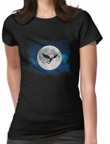 How to train your dragon - Night flight Womens Fitted T-Shirt