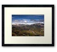 Mt Kosciuszko HDR Framed Print