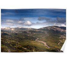 Mt Kosciuszko HDR Poster