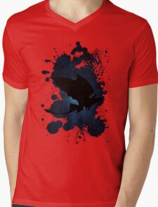 How to train your dragon - Toothless and Hiccup night Mens V-Neck T-Shirt