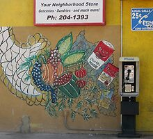 Wall Art at the Neighborhood Market by DAdeSimone
