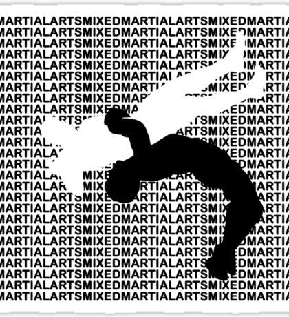 Mixed Martial Arts Freestyle Wrestling Suplex MMA  Sticker