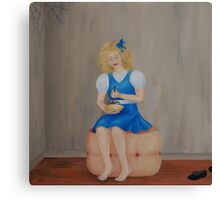 Miss Muffet Canvas Print
