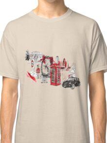 London Town Illustration Classic T-Shirt