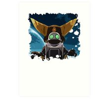Ratchet & Clank - A new adventure Art Print