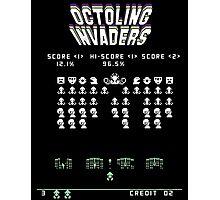 Splatoon Inspired: Octoling Invaders Photographic Print