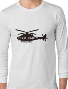 bloc party helicopter  Long Sleeve T-Shirt