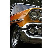 Flame Car Photographic Print