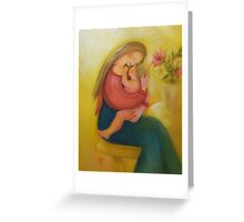 Lullaby Under The Light Greeting Card