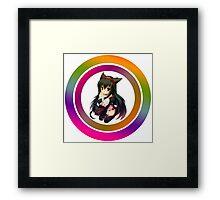 Anime girl Framed Print