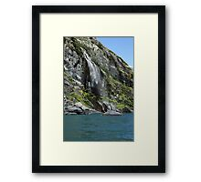 Alaskan Shower Framed Print