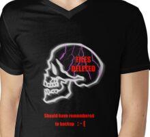 Files Deleted. Mens V-Neck T-Shirt
