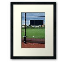 Baseball Field Framed Print