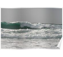 surf on Coumeenole Beach Poster