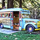 """The Blue Bus"" by Aurora Vaz"