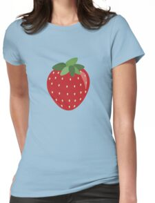 Summer Strawberry!  Womens Fitted T-Shirt