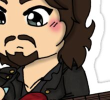 Rock Star Captain Athos ~ Sticker and Shirt Sticker