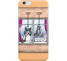 Bored Collie iPhone Case/Skin