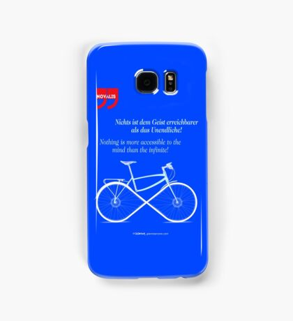 Ride To Infinity (quotation) Samsung Galaxy Case/Skin