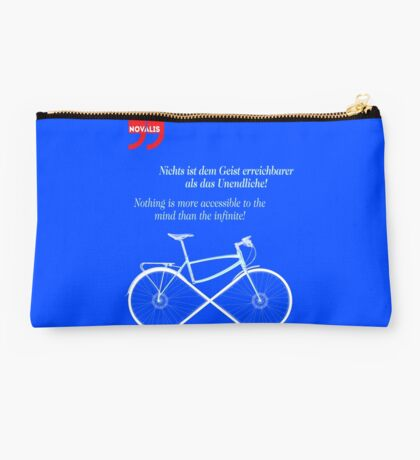 Ride To Infinity (quotation) Studio Pouch