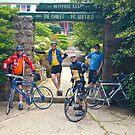 Mt Buffalo cyclists by Ellenor Clarke