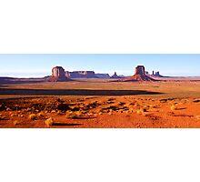 Monument Valley Panorama Photographic Print