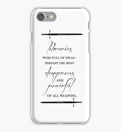 """Libraries"" - Throne of Glass iPhone Case/Skin"