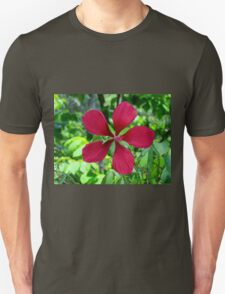 Big Red Flower T-Shirt