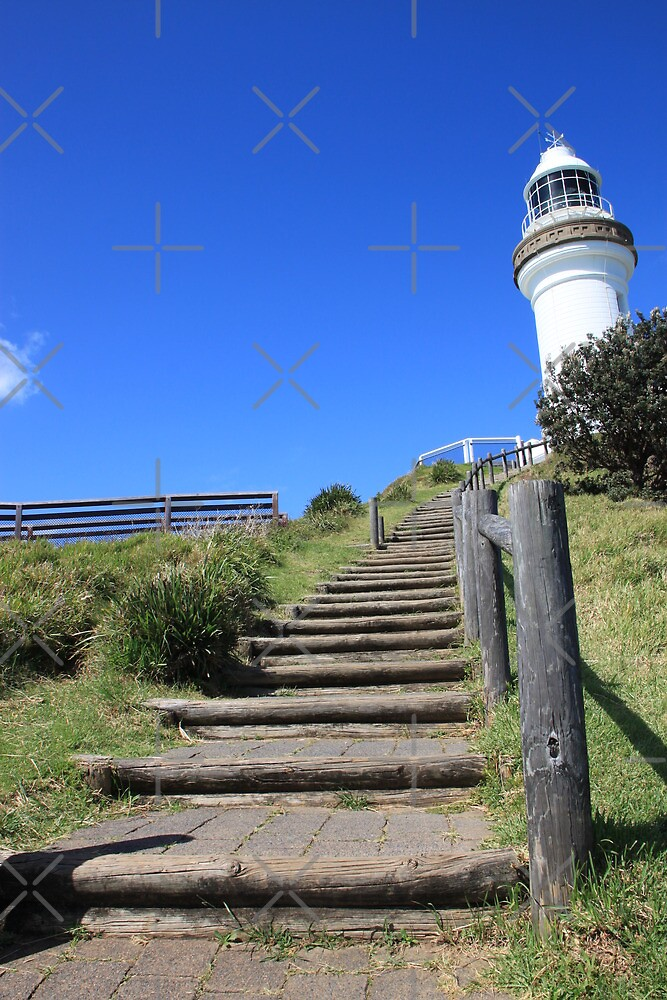 Cape Byron Lighthouse Eastern Stairs by Michelle Munday