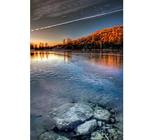 Ice Line Photographic Print