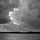 Brewing Storm over Clinton Lake by Dave Anderson