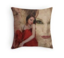 Secrets Within Throw Pillow