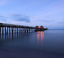 The Naples Pier by kathy s gillentine