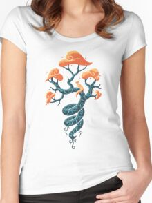 Magic Tree Women's Fitted Scoop T-Shirt