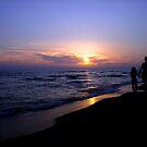 Tramonto sul Mar Tirreno by eppixx