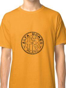 Old Alfa Black Classic T-Shirt