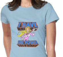 Power Rangers / She-Ra 'I Have The Power' Womens Fitted T-Shirt