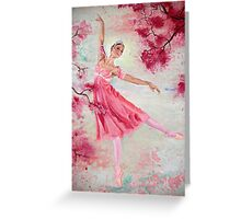 Spring Blossoms - portrait Greeting Card