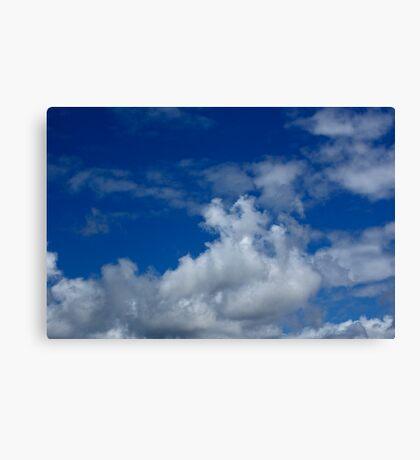 Cloud stock Canvas Print