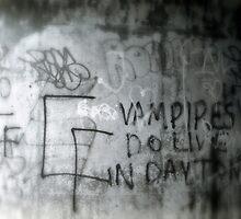 Vampire Graffiti by Cameron Hampton