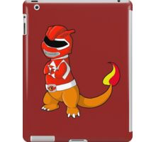 Red Ever Evolvin' PokeRanger iPad Case/Skin