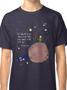 Doctor who meet a little prince Classic T-Shirt