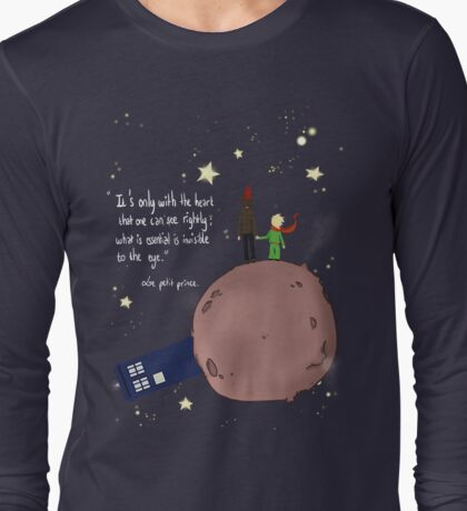Doctor who meet a little prince Long Sleeve T-Shirt