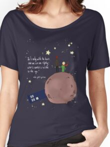 Doctor who meet a little prince Women's Relaxed Fit T-Shirt