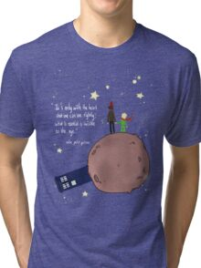 Doctor who meet a little prince Tri-blend T-Shirt